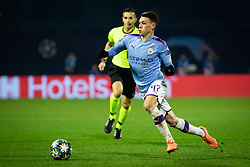 Phil Foden of Manchester City during football match between GNK Dinamo Zagreb and Manchester City in 6th Round of UEFA Champions league 2019/20, on December 11, 2019 in Maksimir, Zagreb, Croatia. Photo by Blaž Weindorfer / Sportida