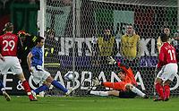 Fotball , 1. mars 2006 , Italia - Tyskland<br /> 1:0 Tor Alberto Gilardino Italien , Jens Lehmann<br /> Laenderspiel Italien - Deutschland<br />  Norway only