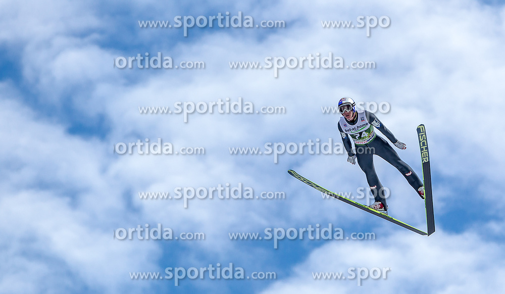 03.01.2014, Bergisel Schanze, Innsbruck, AUT, FIS Ski Sprung Weltcup, 62. Vierschanzentournee, Qualifikation, im Bild Gregor Schlierenzauer (AUT) // Gregor Schlierenzauer (AUT) during qualification Jump of 62nd Four Hills Tournament of FIS Ski Jumping World Cup at the Bergisel Schanze, <br /> Innsbruck, Austria on 2014/01/03. EXPA Pictures © 2014, PhotoCredit: EXPA/ JFK