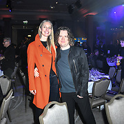 Catherine Marks - Producer winner of producer of the year 2018 and Cam Blackwood _ UK Producer attend The Music Producers Guild Awards at Grosvenor House, Park Lane, on 27th February 2020, London, UK.