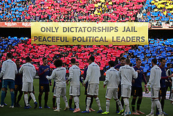 October 28, 2018 - Barcelona, Catalonia, Spain - match between FC Barcelona and Real Madrid CF, corresponding to the week 10 of the Liga Santander, played at the Camp Nou, on 28th October 2018, in Barcelona, Spain. (Credit Image: © Joan Valls/NurPhoto via ZUMA Press)