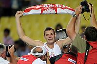 ATHLETICS - IAAF WORLD CHAMPIONSHIPS 2011 - DAEGU (KOR) - DAY 3 - 29/08/2011 - PHOTO : STEPHANE KEMPINAIRE / KMSP / DPPI - <br /> POLE VAULT - MEN - FINALE - WINNER - GOLD MEDAL - PAVEL WOJCIECHOWSKI (POL)