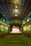 Interior of Gaiety Theatre in Shimla, India