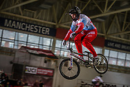 #707 (KOMAROV Evgeny) RUS at the 2016 UCI BMX Supercross World Cup in Manchester, United Kingdom<br /> <br /> A high res version of this image can be purchased for editorial, advertising and social media use on CraigDutton.com<br /> <br /> http://www.craigdutton.com/library/index.php?module=media&pId=100&category=gallery/cycling/bmx/SXWC_Manchester_2016