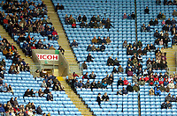 Photo: Ed Godden/Sportsbeat Images.<br />Coventry City v Cardiff City. Coca Cola Championship. 10/02/2007. Poor attendance is visible at the Ricoh Arena.