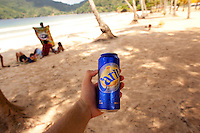 Carib Lager Beer. Trinidad and Tobago, Port of Spain. September, 2009.