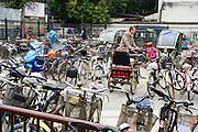 China, Beijing local transport Bicycle rack