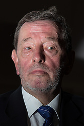 "© Licensed to London News Pictures . 13/02/2014 . Manchester , UK . Former Home Secretary and MP for Sheffield Brightside and Hillsborough , DAVID BLUNKETT , attends a discussion on Roma migration at The University of Manchester today (13th February 2014) . Mr Blunkett stated that tensions between Roma people and more established communities within the Page Hall area of Sheffield, where Roma migrants from Slovakia have settled , could spill over in to rioting if more wasn't done to help integration of the Roma community . The BBC quoted him as saying , ""We have got to change the behaviour and the culture of the incoming community, the Roma community, because there's going to be an explosion otherwise. We all know that."" Some commentators have stated that Mr Blunkett is ""feeding Romaphobia"" . Photo credit : Joel Goodman/LNP"