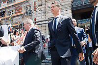 Real Madrid's Cristiano Ronaldo leaves Seat of Government in Madrid, May 22, 2017. Spain.<br /> (ALTERPHOTOS/BorjaB.Hojas)