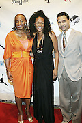 l to r: Susan L. Taylor, DJ Beverly Bond, Khephra Burns at The 3rd Annual Black Girls Rock Awards held at the Rose Building at Lincoln Center in New York City on November 2, 2008..BLACK GIRLS ROCK! Inc. is a 501 (c)(3) nonprofit, youth empowerment mentoring organization established for young women of color.  Proceeds from ticket sales will benefit BLACK GIRLS ROCK! Inc.?s mission to empower young women of color via the arts.  All contributions are tax deductible to the extent allowed by