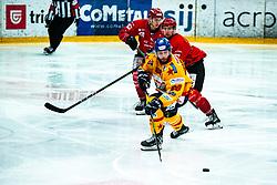 Marchetti Michele Alps League Ice Hockey match between HDD SIJ Jesenice and Migross Supermercati Asiago Hockey on April 17, 2021 in Ice Arena Podmezakla, Jesenice, Slovenia. Photo by Peter Podobnik / Sportida