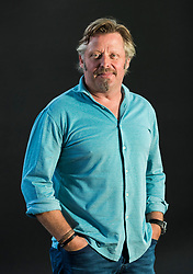Charley Boorman appearing at the Edinburgh International Book Festival<br /> <br /> Charley Boormanis an English TV presenter, travel writer and actor. He is known for his enthusiasm for motorbikes, as demonstrated in several documentaries of his travels, including two with his friend, actorEwan McGregor.