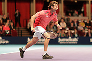 Juan Carlos Ferrero during the Champions Tennis match at the Royal Albert Hall, London, United Kingdom on 6 December 2018. Picture by Ian Stephen.