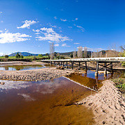 Bridge over the Towamba River, New South Wales, Australia
