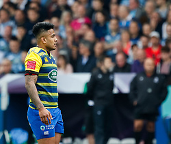 Cardiff Blues' Rey Lee-Lo<br /> <br /> Photographer Simon King/Replay Images<br /> <br /> European Rugby Challenge Cup - Semi Final - Cardiff Blues v Pau - Saturday 21st April 2018 - Cardiff Arms Park - Cardiff<br /> <br /> World Copyright © Replay Images . All rights reserved. info@replayimages.co.uk - http://replayimages.co.uk