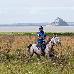 Maria Alvarez Ponton, (ESP), Qualif Du Poncelet - Endurance - Alltech FEI World Equestrian Games™ 2014 - Normandy, France.<br /> © Hippo Foto Team - Leanjo de Koster<br /> 25/06/14