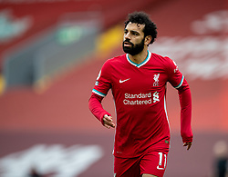 LIVERPOOL, ENGLAND - Sunday, March 7, 2021: Liverpool's Mohamed Salah during the FA Premier League match between Liverpool FC and Fulham FC at Anfield. Fulham won 1-0 extending Liverpool's run to six consecutive home defeats. (Pic by David Rawcliffe/Propaganda)