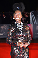 Floella Benjamin arriving for the 62nd BFI London Film Festival Opening Night Gala screening of Widows held at Odeon Leicester Square, London.