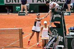 Garbine Mugura VS Yulia Putintseva, Garbine Mugura Win during French Tennis Open at Roland-Garros arena on June 02, 2017 in Paris, France. Photo by Nasser Berzane/ABACAPRESS.COM