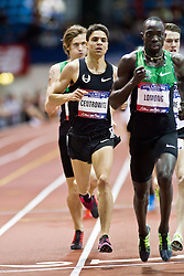 Millrose Games indoor track and field: Matthew Centrowitz, 5000 m, Lopez Lomong,