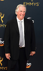 September 18, 2016 - Los Angeles, CA, USA - Henry Winkler arrives at the 68th Annual Emmy Awards at the Microsoft Theater in Los Angeles, California on Sunday, September 18, 2016. (Credit Image: © Michael Owen Baker/Los Angeles Daily News via ZUMA Wire)