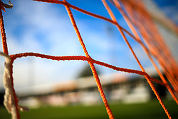 10 August 2016 - EFL Cup - First Round - Luton Town v Aston Villa - Close up detail of the goal nets at Kenilworth road - Photo: Marc Atkins / Offside.