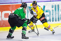 08.10.2013, Hala Tivoli, Ljubljana, SLO, EBEL, HDD Olimpija Ljubljana vs UPC Vienna Capitals, 18.Runde, im Bild Benoit Gratton (UPC Vienna Capitals, #25) // during the Erste Bank Icehockey League 18th Game Day match between HDD Olimpija Ljubljana and UPC Vienna Capitals at the Hala Tivoli, Ljubljana, Slovenia on 2013/10/08. EXPA Pictures © 2013, PhotoCredit: EXPA/ Sportida/ Matic Klansek Velej<br /> <br /> ***** ATTENTION - OUT OF SLO *****