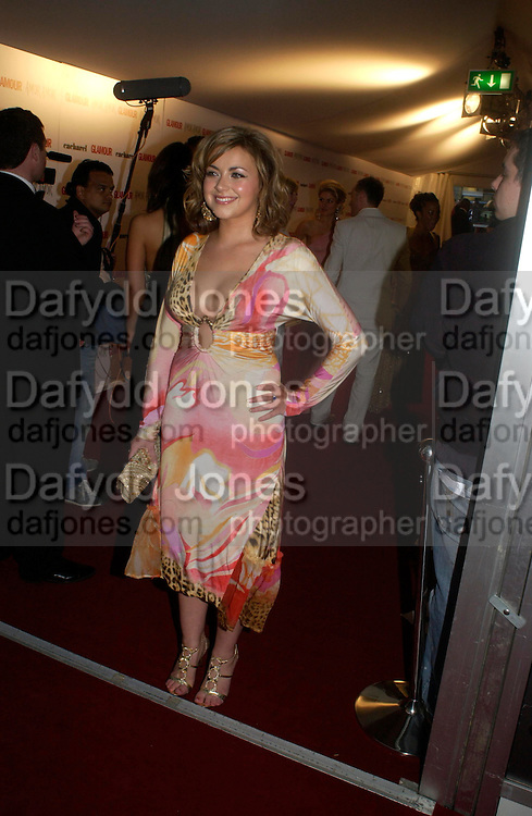 Charlotte Church. Glamour Women Of The Year Awards 2005, Berkeley Square, London.  June 7 2005. ONE TIME USE ONLY - DO NOT ARCHIVE  © Copyright Photograph by Dafydd Jones 66 Stockwell Park Rd. London SW9 0DA Tel 020 7733 0108 www.dafjones.com