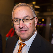 NLD/Rotterdam/20190221 - inloop verjaardagsfeestj Willem van Hanegem, Ahmed Aboutaleb