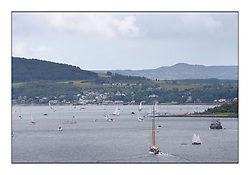 Day three of the Fife Regatta, Cruise up the Kyles of Bute to Tighnabruaich<br /> <br /> Kyles of Bute busy with Fife's and spectators<br /> <br /> * The William Fife designed Yachts return to the birthplace of these historic yachts, the Scotland's pre-eminent yacht designer and builder for the 4th Fife Regatta on the Clyde 28th June–5th July 2013<br /> <br /> More information is available on the website: www.fiferegatta.com