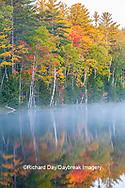 64776-02102 Council Lake in fall color Alger Co.  MI