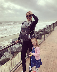 """Kate Upton releases a photo on Instagram with the following caption: """"Getting in a little cardio with a family beach walk. I\u2019m not going to lie to you and tell you I\u2019ve been working out and eating healthy. It\u2019s so hard over the holidays. Traveling and enjoying time with my family! I\u2019m trying not to get down on myself. Instead use it as motivation to get right back at it! I have a long way to go to lose this baby weight but feeling determined for 2019! #strong4me @strong4mefit"""". Photo Credit: Instagram *** No USA Distribution *** For Editorial Use Only *** Not to be Published in Books or Photo Books ***  Please note: Fees charged by the agency are for the agency's services only, and do not, nor are they intended to, convey to the user any ownership of Copyright or License in the material. The agency does not claim any ownership including but not limited to Copyright or License in the attached material. By publishing this material you expressly agree to indemnify and to hold the agency and its directors, shareholders and employees harmless from any loss, claims, damages, demands, expenses (including legal fees), or any causes of action or allegation against the agency arising out of or connected in any way with publication of the material."""