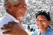 Couple dancing in Gibara,Holguin,Cuba.