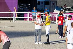 Weinberg Peter, GER, Chef d'Equipe, Wathelet Gregory, BEL<br /> Olympic Games Tokyo 2021<br /> © Hippo Foto - Dirk Caremans<br /> 04/08/2021