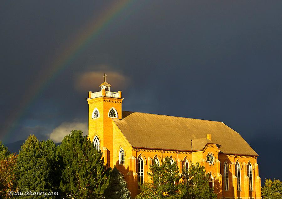 Historic St Ignatius Mission in St Ignatius, Montana, USA