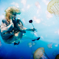 "Underwater photography, the first of my experimental Underwater Art series, ""Undercurrents"""