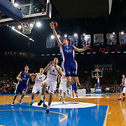 Anadolu Efes's Cedi Osman (C) during their Turkish Airlines Euroleague Basketball Top 16 Round 7 match Anadolu Efes between Fenerbahce Ulker at Abdi ipekci arena in Istanbul, Turkey, Friday 13 February, 2015. Photo by Aykut AKICI/TURKPIX