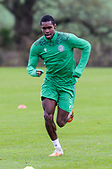 Trialist Leyland Archer during the Hibernian training session at Hibernian Training Centre, Ormiston, Scotland on 27 November 2020, ahead of their Betfred Cup match against Dundee.