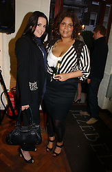 Left to right, KATE BRINDLEY and Singer MEL C formerly of the Spicegirls at a party to celebrate the opening of the new fashion store Jezebell at 59 Blandford Street, London W1 on 20th April 2006.<br />