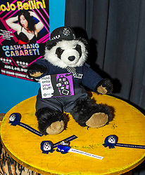 Pictured: Amanda the Panda<br /> Superintendent Lesley Clark discussed key safety messages being promoted during the operation over the period of the Edinburgh Festival, and unveiled this year's Operation Summer City mascot Amanda the panda<br /> Ger Harley | EEm 2 August  2017