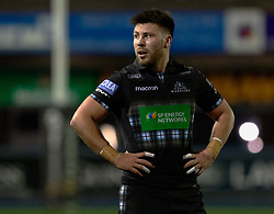 Ali Price of Glasgow Warriors<br /> <br /> Photographer Simon King/Replay Images<br /> <br /> Guinness PRO14 Round 15 - Cardiff Blues v Glasgow Warriors - Saturday 16th February 2019 - Cardiff Arms Park - Cardiff<br /> <br /> World Copyright © Replay Images . All rights reserved. info@replayimages.co.uk - http://replayimages.co.uk