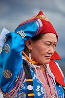 Mongolie, province de Uvs, région de l'ouest, mariage nomade dans la steppe, ethnie Dorvod // Mongolia, Uvs province, western Mongolia, nomad wedding in the steppe, Dorvod ethnic group