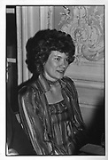 Duchess of Aberdeen at the  Birthright Spring Celebration on 28/04/86. ONE TIME USE ONLY - DO NOT ARCHIVE  © Copyright Photograph by Dafydd Jones 66 Stockwell Park Rd. London SW9 0DA Tel 020 7733 0108 www.dafjones.com