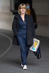 © Licensed to London News Pictures. 25/10/2020. London, UK. Sister of Prime Minister Boris Johnson Rachel Johnson departs the BBC. Photo credit: George Cracknell Wright/LNP