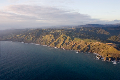 Sonoma Coast - north of Russian River, looking north toward Fort Ross