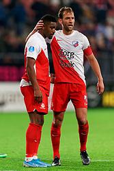 23-11-2019 NED: FC Utrecht - AZ Alkmaar, Utrecht<br /> Round 14 / Willem Janssen #14 of FC Utrecht, Gyrano Kerk #7 of FC Utrecht