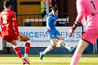 Tom Walker. Stockport County FC 0-0 Bromley FC. Vanarama National League. Edgeley Park. 5.4.21