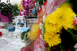 Olympic Winter Games Vancouver 2010 - Olympische Winter Spiele Vancouver 2010, Luge, Rodeln, Rennrodeln, In Memory of Nodar Kumaritashvili, Todesfall, In Gedenken an den verstorbenen Rodler Nodar Kumaritashvili,  *Photo by Malte Christians / HOCH ZWEI / SPORTIDA.com.