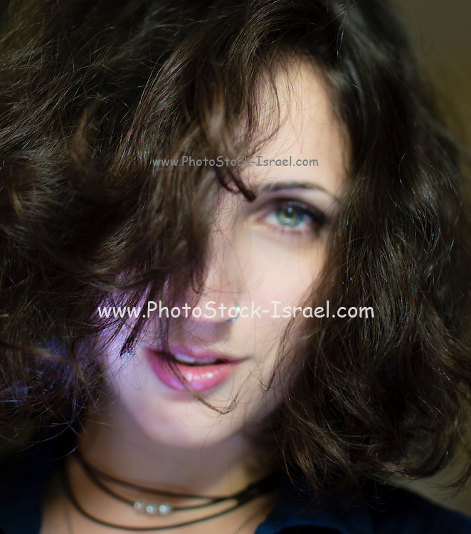 Portrait of a young woman in her early 20s Model release available