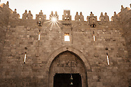 The Damascus Gate in Jerusalem, Israel